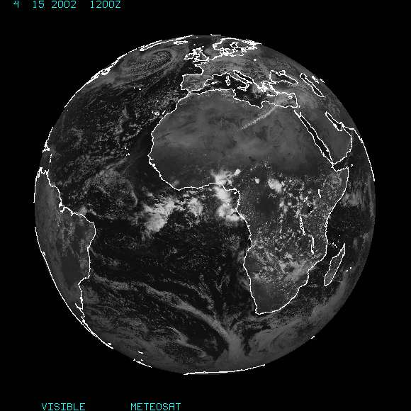 Link to Meteosat Imagery